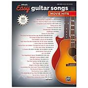 BELWIN Alfred's Easy Guitar Songs: Movie Hits Easy Hits Guitar TAB Songbook