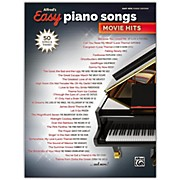 BELWIN Alfred's Easy Piano Songs: Movie Hits Easy Hits Piano Songbook