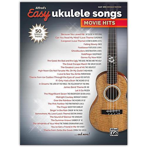 Alfred Alfred's Easy Ukulele Songs: Movie Hits Easy Hits Ukulele Songbook-thumbnail