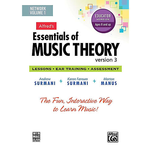 Alfred Alfred's Essentials of Music Theory: Software, Version 3 Network Version, Volume 1 (for 5 users)-thumbnail