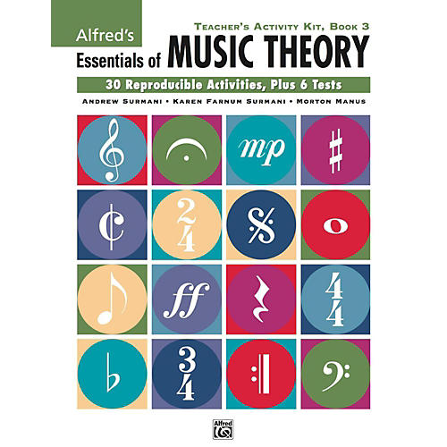 Alfred Alfred's Essentials of Music Theory: Teacher's Activity Kit, Book 3-thumbnail