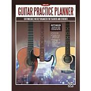 Alfred Alfred's Guitar Practice Planner Planner, Student Journal & Manuscript Paper Book