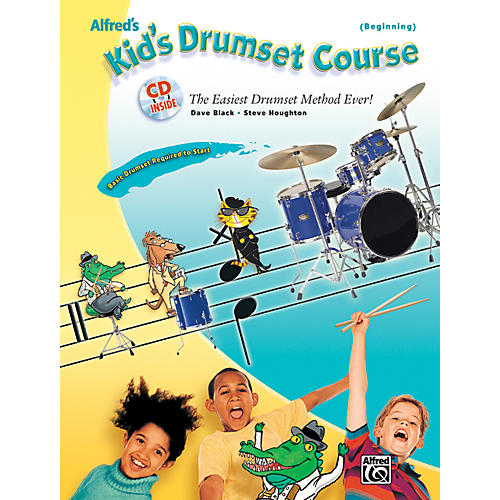 Alfred Alfred's Kid's Drumset Course Book & CD-thumbnail