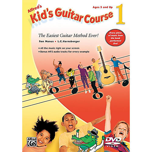 Alfred Alfred's Kid's Guitar Course 1 DVD-thumbnail