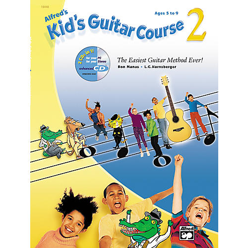 Alfred Alfred's Kid's Guitar Course 2 (Book/CD)-thumbnail