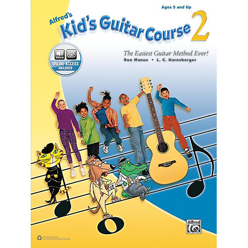 Alfred Alfred's Kid's Guitar Course 2 Book & Online Audio Beginner