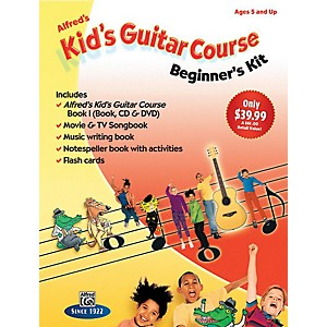 Alfred Alfred's Kid's Guitar Course: Beginner's Kit by Alfred