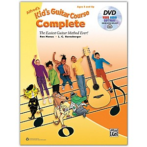 Alfred Alfreds Kids Guitar Course Complete Book, DVD and Online Audio, Vide... by Alfred