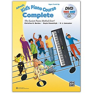 Alfred Alfred's Kid's Piano Course Complete Book, CD and DVD by Alfred