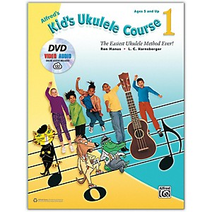 Alfred Alfred's Kid's Ukulele Course 1 - Book, DVD and Online Audio and Video by Alfred