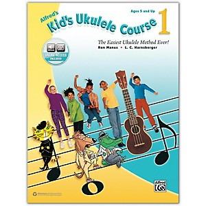 Alfred Alfreds Kids Ukulele Course 1 - Book and Online Audio by Alfred