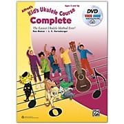BELWIN Alfred's Kid's Ukulele Course, Complete Book, DVD & Online Audio & Video Beginner