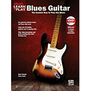 Alfred Alfred's Learn to Play Blues Guitar Book & DVD