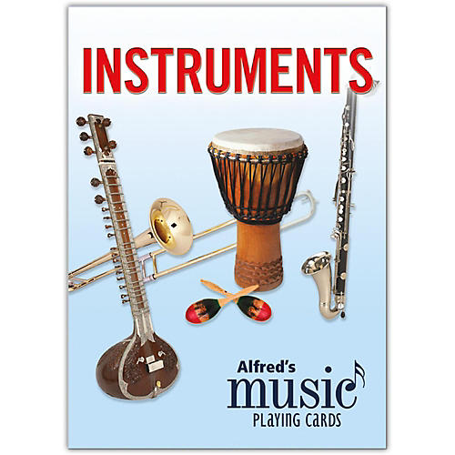Alfred Alfred's Music Playing Cards: Instruments Card Deck (1 Pack)
