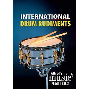 Alfred Alfreds Music Playing Cards: International Drum Rudiments - Card De... by Alfred