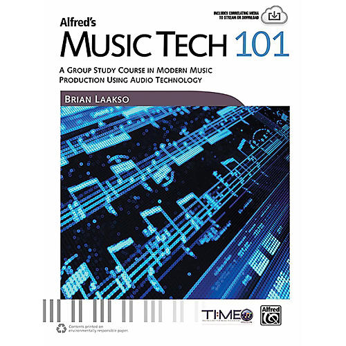Alfred Alfred's Music Tech 101 - Book-thumbnail