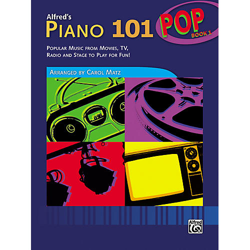 Alfred Alfred's Piano 101 Pop Book 1-thumbnail