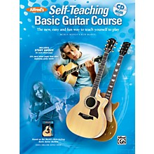 Alfred Alfred's Self-Teaching Basic Guitar Course Book & CD