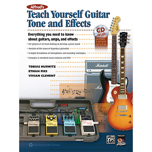 Alfred Alfred's Teach Yourself Guitar Tone and Effects Book & CD-thumbnail