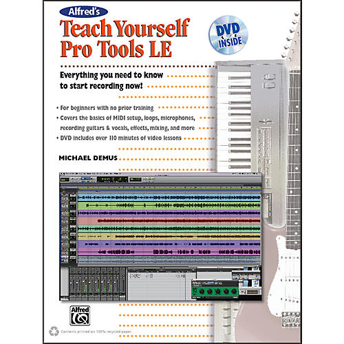 Alfred Alfred's Teach Yourself Pro Tools LE Book & DVD-thumbnail