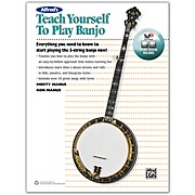Alfred Alfred's Teach Yourself to Play Banjo Book, CD & DVD