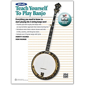 Click here to buy Alfred Alfreds Teach Yourself to Play Banjo Book, CD and DVD by Alfred.