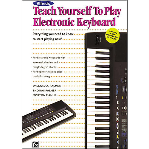 Alfred Alfred's Teach Yourself to Play Electronic Keyboard