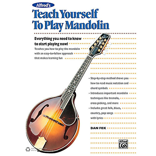 Alfred Alfred's Teach Yourself to Play Mandolin Book, CD & DVD-thumbnail