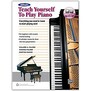 Alfred Alfreds Teach Yourself to Play Piano - Book and Online Audio by Alfred