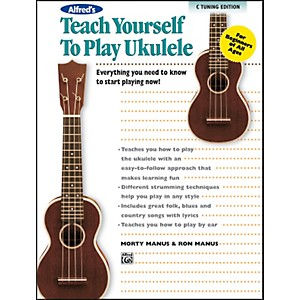 Alfred Alfreds Teach Yourself to Play Ukulele C-Tuning Edition Book and CD by Alfred