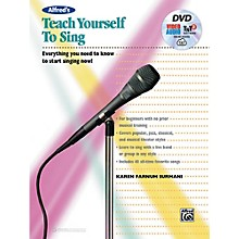 Alfred Alfred's Teach Yourself to Sing Book, DVD & Online Audio, Video & Software