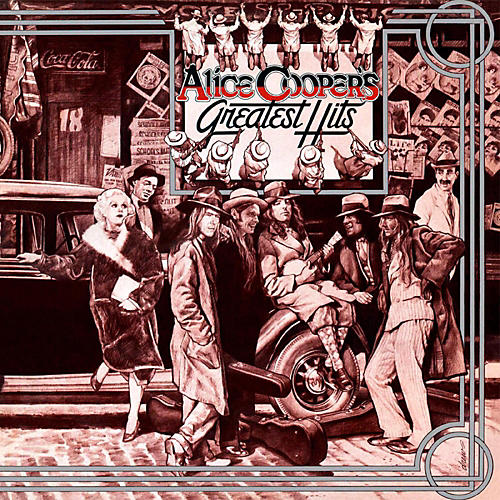 RED Alice Cooper - Alice Cooper's Greatest Hits LP-thumbnail