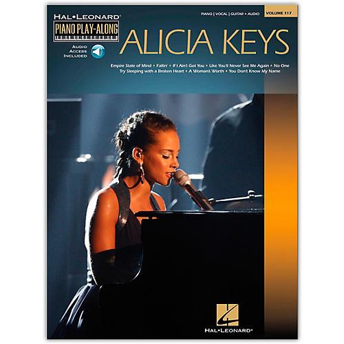 Hal Leonard Alicia Keys - Piano Play-Along Volume 117 Book/CD