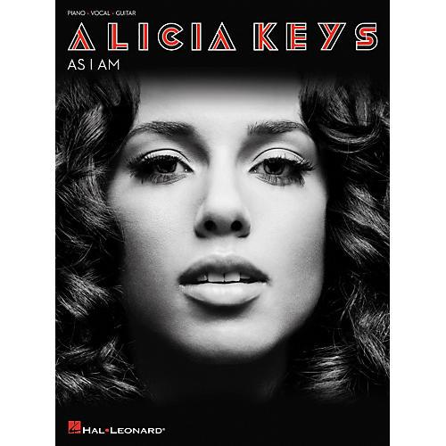 Hal Leonard Alicia Keys As I Am arranged for piano, vocal, and guitar (P/V/G)-thumbnail