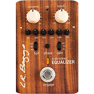 LR Baggs Align Acoustic Preamp/Equalizer Effects Pedal by LR Baggs