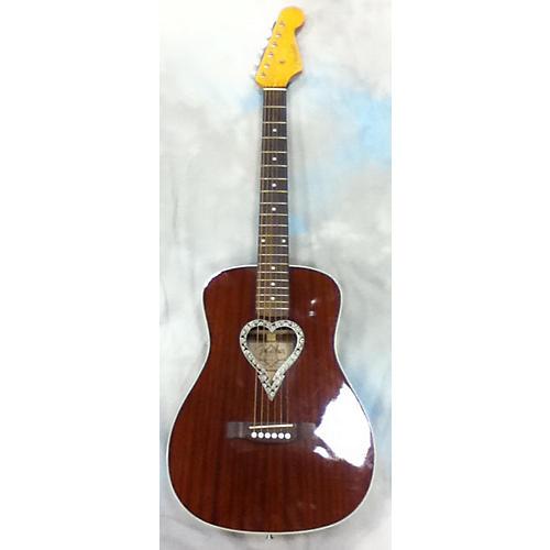 Fender Alkaline Trio Malibu Acoustic Guitar-thumbnail