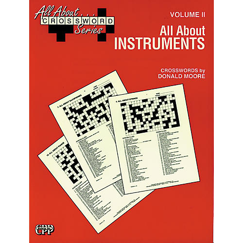 Alfred All About ... Crossword Series, Vol. II All About Instruments Music Game Book-thumbnail