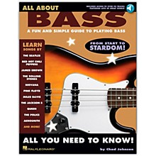 Hal Leonard All About Bass (Fun & Simple Guide To Playing Bass From Start To Stardom) (Book/Online Audio)