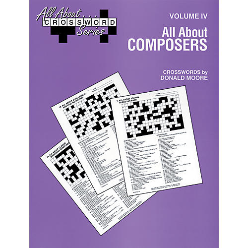 Alfred All About Composers Crossword Puzzles