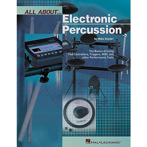 Hal Leonard All About Electronic Percussion (Book)