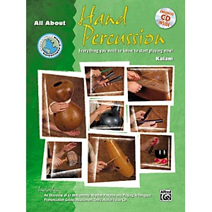 Alfred All About Hand Percussion Book/CD by Alfred