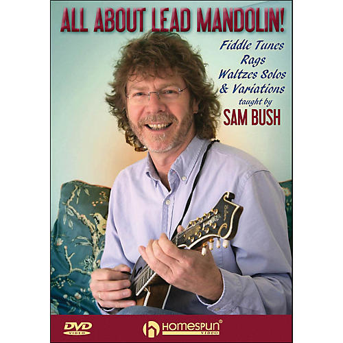 Homespun All About Lead Mandolin Fiddle Tunes Rags Waltzes Solos And Variations DVD