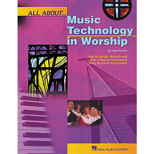 Hal Leonard All About Music Technology in Worship Book