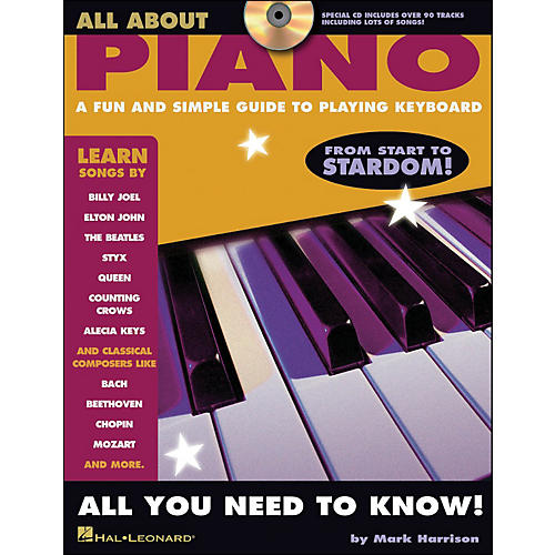 Hal Leonard All About Piano Book/CD Series-thumbnail