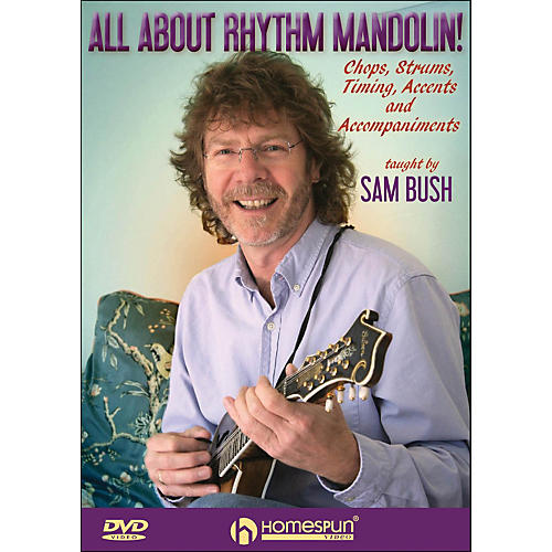 Homespun All About Rhythm Mandolin Chops Strums Timing Accents And Accompaniments DVD-thumbnail