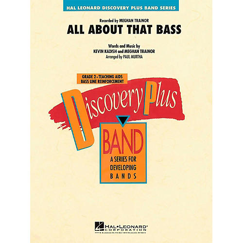 Hal Leonard All About That Bass - Discovery Plus Concert Band Level 2-thumbnail