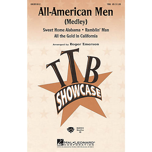 Hal Leonard All-American Men (Medley) TBB arranged by Roger Emerson