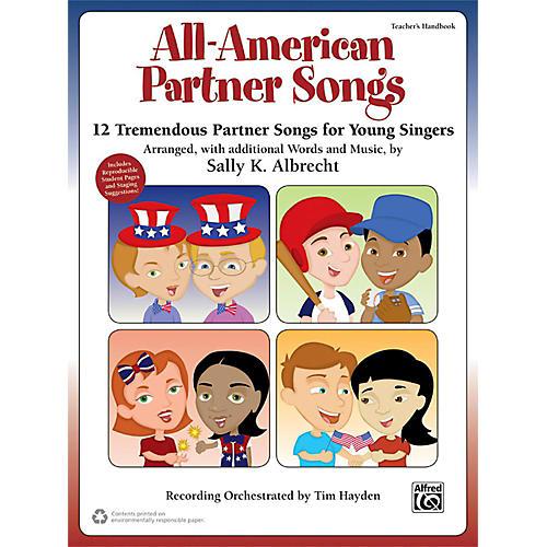 Alfred All-American Partner Songs Enhanced CD-thumbnail