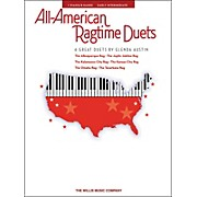 Willis Music All-American Ragtime Duets Early Intermediate 1 Piano 4 Hands by Glenda Austin