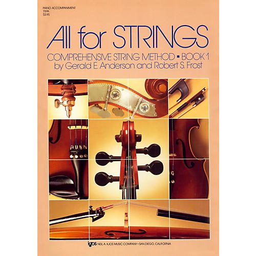 KJOS All For Strings 1 Piano Accomp-thumbnail